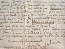 André Salmon très préoccupé par la sortie de Carreaux en Librairie.. André Salmon (1881-1969) Écrivain, poète et critique d'art, ami de Picasso et ...