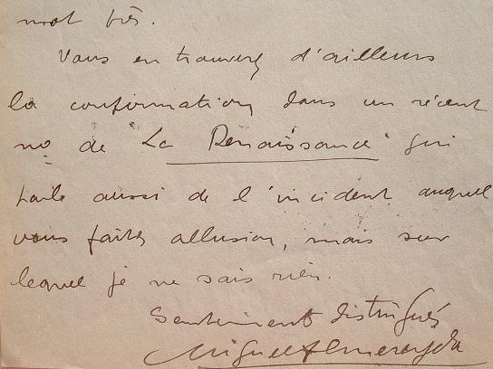 Rare lettre du militant anarchiste Miguel Almereyda.. Jean-Baptiste (dit Miguel) Almereyda (Vigo dit) (1883-1917) Militant anarchiste, père de Jean ...