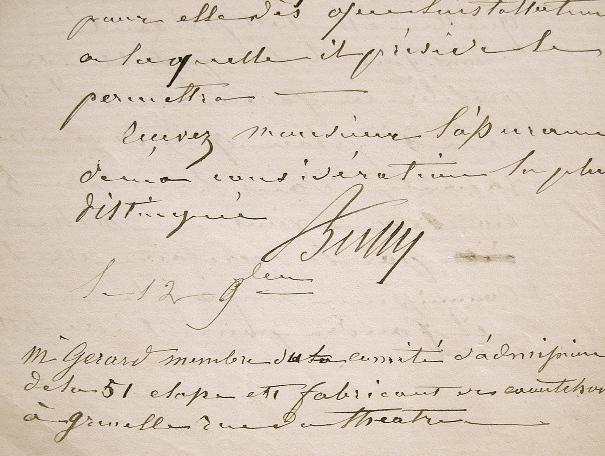 Antoine Bussy. Lettre de l'Ecole de Pharmacie.. Antoine Bussy (1794-1882) Directeur de l'Ecole de pharmacie (1844-1873), fondateur de l'Union ...
