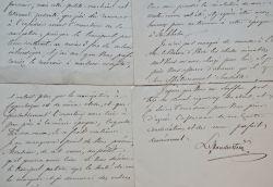 Ludvig Manderström voyage en Norvège avec le Roi.. Ludvig Manderström (1806-1873) Homme d'Etat et diplomate suédois, ambassadeur à Vienne puis à Paris ...