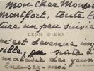 """Léon Dierx, presque aveugle, renonce à la lecture.. Léon Dierx (1838-1912) Poète, il succède à Mallarmé comme """"prince des poètes""""."""