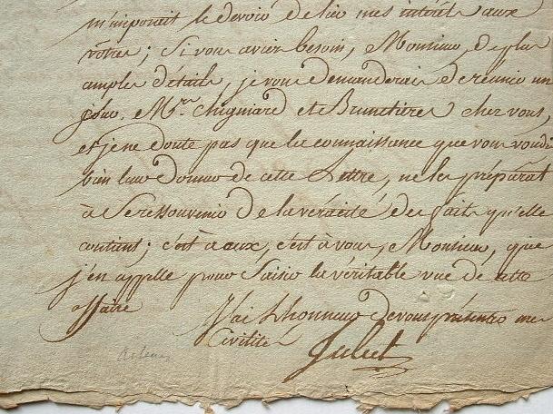 Le chanteur Juliet, témoin de la concurrence entre Théâtres Favart et Feydeau.. Antoine Juliet (Juillet dit) (1755-1825) Chanteur lyrique, engagé au ...