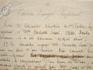 Contrat d'engagement de Carlotta Patti au Théâtre Lyrique Impérial..