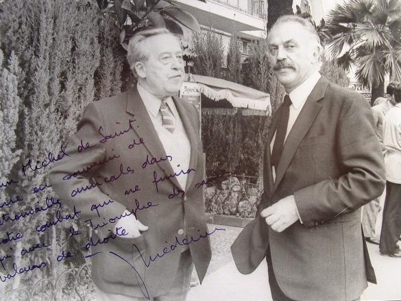 Jacques Médecin croit au triomphe des saines valeurs de droite.. Jacques Médecin (1928-1998) Emblématique maire de Nice (de 1966 à 1990) et député des ...