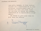 L'évêque de Monaco vient en aide aux enfants abandonnés de Riaumont.. Jean Rupp (1905-1983) Evêque de Monaco (1962-1971), il fut très impliqué dans le ...