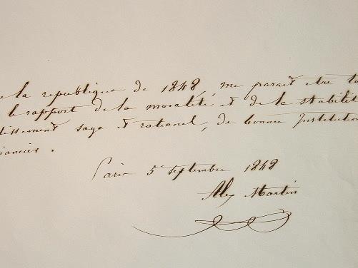 Le député maire d'Orléans exprime sa vision de la République de 1848.. Alexandre Martin (1805-1863) Député d'extrême gauche du Loiret à la ...