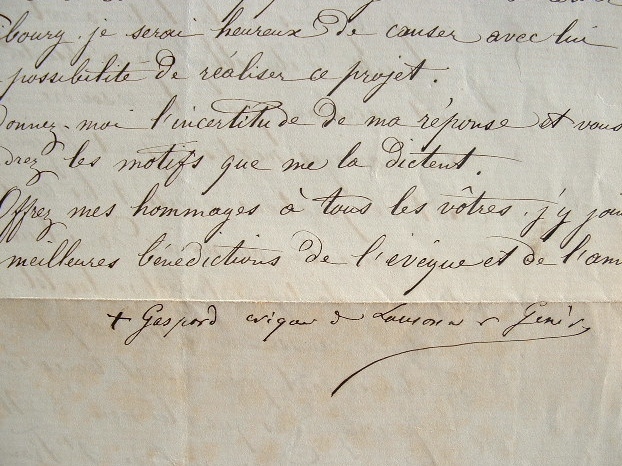 Mgr Mermillod donne son sentiment sur les mariages mixtes.. Gaspard Mermillod (1824-1892) Evêque de Lausanne et Genève (1883-1891), un des acteurs ...