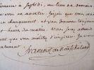 François de Neufchâteau repousse un rendez-vous.. Nicolas Louis François de Neufchâteau (1750-1828) Député, ministre, directeur du Directoire, il est ...