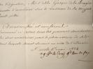 Le grand aumônier de France donne sa bénédiction pour embarquer.. Gustave Croy-Solre (prince de) (1773-1844) Evêque de Strasbourg (1817), grand ...