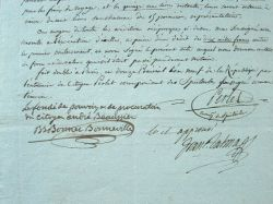 Talma signe un contrat pour 15 représentations à Marseille.. François Joseph Talma (1763-1826) Le plus prestigieux acteur de son époque, admiré par ...
