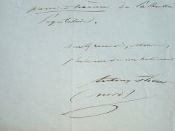 La maxime du député du Nord Antony Thouret.. Antony Thouret (1807-1871) Député de gauche à la Constituante de 1848 puis à la Législative, fondateur du ...