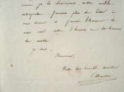Le supérieur de la Mission de Canada, Félix Martin, très occupé.. Félix Martin (1804-1886) Jésuite, supérieur de ma mission du Bas-Canada (1844), il ...