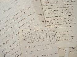 Correspondance de la salonnière Mary Clarke et de son mari Jules Mohl.. Mary Clarke Mohl (1793-1883) Salonnière, épouse de l'orientaliste Jules Mohl, ...