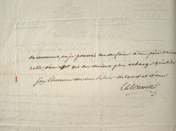 Le préfet du Tarn, La Rivoire de La Tourrette, vend ses propriétés.. Marie Just Antoine La Rivoire de La Tourrette (de) (1751-1819) Préfet du Tarn (an ...