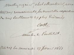L'ichtyologiste Victor Coste n'a plus sa liberté.. Victor Coste (1807-1873) Ichtyologiste et naturaliste, pionnier de la pisciculture, membre de ...
