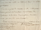 Le Dr Keraudren croit en l'effet de l'esprit de Minderer sur le Choléra.. Pierre François Kéraudren (1769-1858) Médecin de la Marine, il s'est ...