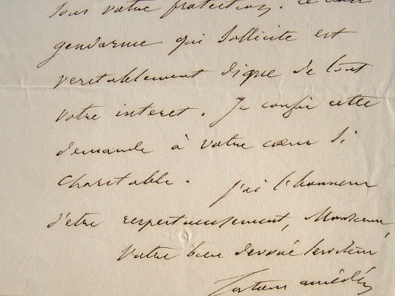 Amédée Tenant de Latour sollicite l'assistance publique.. Amédée Latour (Tenant de) (1805-1882) Médecin et journaliste médical, fondateur de l'Union ...