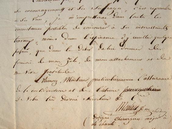 Le Dr Montain, nouveau membre de l'Académie de Mâcon.. Gilbert Alphonse Claudius Montain (1780-1853) Médecin, chirurgien en chef de la Charité de ...
