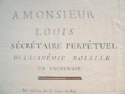 Hommage au père de la guillotine, le docteur Louis..