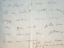 Corvisart, médecin de Napoléon III, intervient auprès du maréchal.. Lucien Corvisart (1824-1884) Médecin de Napoléon III.