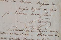 Samuel Cahen dénonce la persécution de la communauté israélite.. Samuel Cahen (1796-1862) Hébraïsant, fondateur des Archives israélites, il a réalisé ...