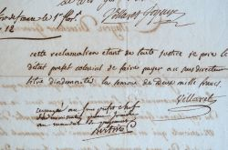 Les frères Villaret de Joyeuse en Martinique.. Jean-Marie Villaret de Joyeuse (1757-1847) Général d'Empire, frère de l'amiral, directeur de ...