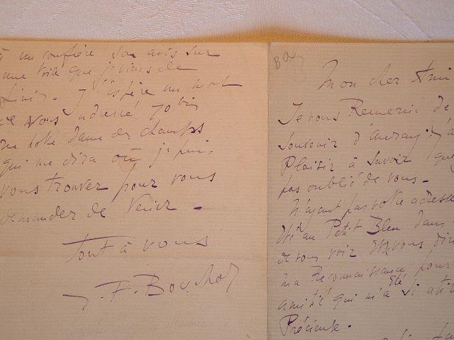 Joseph-Félix Bouchor à propos des Bretonnes.. Joseph Félix Bouchor (1853-1937) Peintre, artiste fécond dans des genres très divers (portraits, scènes ...