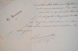 La Société des Lettres de Bar-le-Duc reconnaissante.. Claude Bonnabelle (1824-1896) Historien barisien, membre fondateur et président de la Société ...