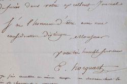 Le graveur Edouard Hocquart fidèle à la mémoire des Bourbons.. Edouard Hocquart (1789-1870) Graveur et marchand d'estampes, auteur d'un portrait du ...