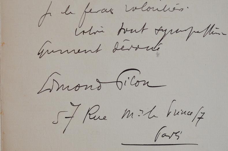 Le poète symboliste Edmond Pilon écoute la forêt chanter.. Edmond Pilon (1874-1945) Chroniqueur, romancier et poète symboliste.