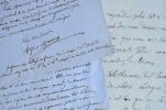 Quatre lettres de l'historien et érudit Alfred Maury.. Alfred Maury (1817-1892) Historien et érudit, directeur général des Archives nationales ...