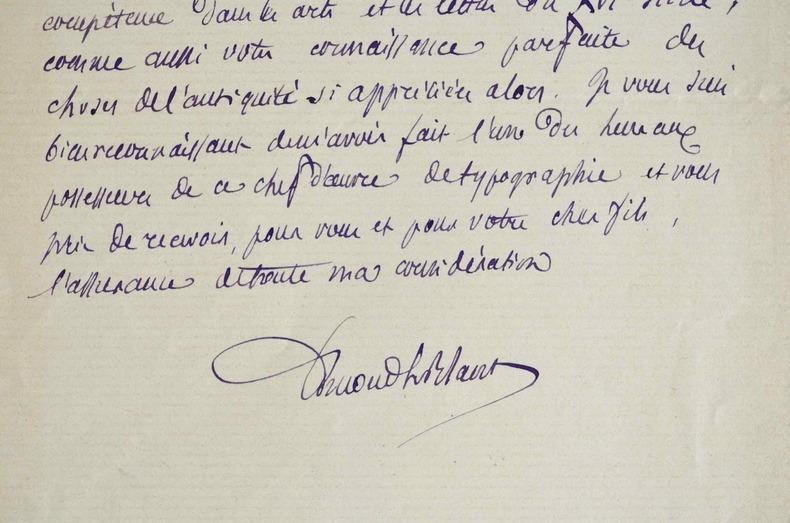 Edmond Le Blant au Palais Farnèse.. Edmond Le Blant (1818-1897) Archéologue, directeur de l'Ecole française de Rome, membre de l'Académie des ...