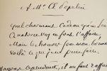 L'astronome Hervé Faye s'essaye à la poésie.. Hervé Faye (1814-1902) Astronome, membre (1847) puis président (1872) de l'Académie des sciences, ...