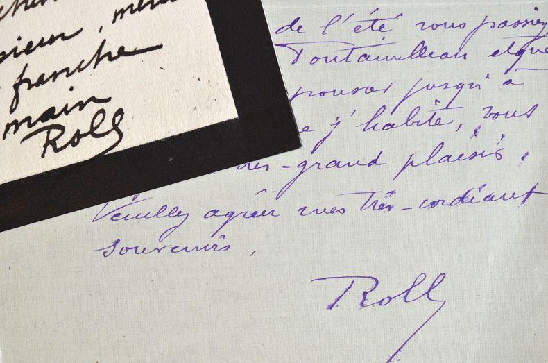 Alfred Roll sensible aux critiques de Péladan.. Alfred Roll (1846-1919) Peintre. Président de la Société Nationale des Beaux Arts (1905), Alfred Roll ...