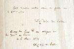 Delisle de Sales cède les droits de son dernier livre.. Jean-Baptiste Claude Delisle de Sales (1741-1816) Ecrivain et philosophe lyonnais.