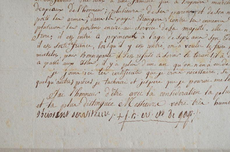 L'évêque de Gap se réfugie à Poitiers.. Henri-François La Broue de Vareilles (de) (1734-1831) Evêque de Gap (1784-1831).