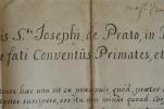Le couvent Saint-Joseph de Prato (Lombardie) ravagé par le feu..
