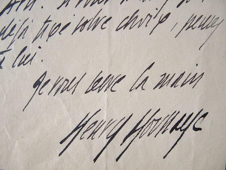 Henry Houssaye aide un mathématicien.. Henry Houssaye (1848-1911) Ecrivain et historien. Membre de l'Académie française (1894).