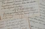 L'évêque de Limoges vient en aide à un gentilhomme du Limousin.. Louis Charles Du Plessis d'Argentr? (1723-1808) Evêque de Limoges (1759-1801), député ...