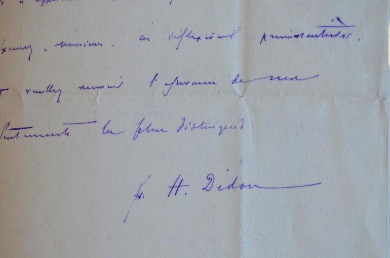 Le promoteur des Jeux Olympiques, Henri Didon, amoureux de la langue française.. Henri Didon (1840-1900) Dominicain et pédagogue, grand promoteur du ...