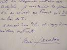 Henri Lavedan arrange un rendez-vous.. Henri Lavedan (1859-1940) Auteur dramatique, romancier et journaliste, il collabore à de nombreuses ...