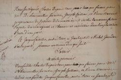 Vente de la manufacture royale de maroquins de Paris..