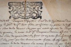 Donation du fief-manoir de Bois-Guillaume à l'Hôtel-Dieu de Rouen..