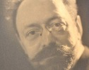 Beau portrait dédicacé du poète forézien Guy Chastel.. Guy Chastel (1883-1962) Poète, essayiste et historien stéphanois.