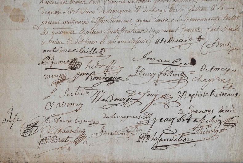 Comptes des apothicaires de Rouen en 1750..