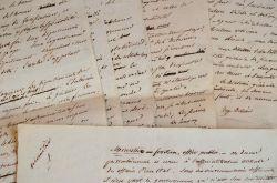 Manuscrit du voyageur et abolitionniste Auguste Billiard.. Auguste Billiard (1788-1858) Voyageur et abolitionniste ; il voyagea à l'île Bourbon de ...