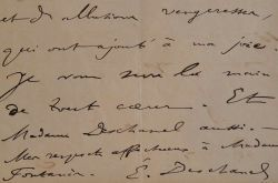 Emile Deschanel ravi des allusions vengeresses sur Washington.. Emile Deschanel (1819-1904) Ecrivain et homme politique, biographe, professeur de ...