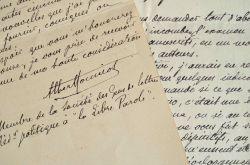 Albert Monniot souhaite écrire des scenarii pour Pathé Frères.. Albert Monniot (1862-1938) Écrivain et journaliste antisémite, proche collaborateur ...