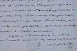 Le fondateur de La Revue de l'Art chrétien sollicite un article. Jules Corblet (1819-1886) Abbé et archéologue, fondateur de la Revue de l'Art ...