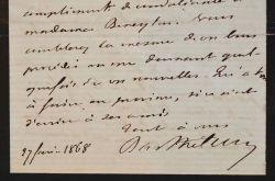 L'archéologue Anatole de Barthélémy sollicite l'aide d'Alfred Maury.. Anatole Barthélemy (de) (1821-1904) Archéologue, membre de la Société des ...